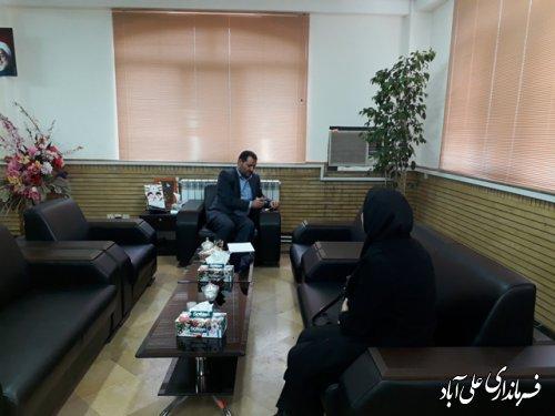 ملاقات مردمی فرماندار علی آباد کتول برگزار شد