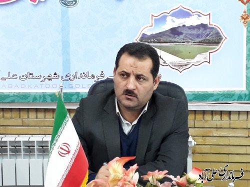 ششمین جلسه شورای ترافیک شهرستان علی آباد کتول برگزارشد