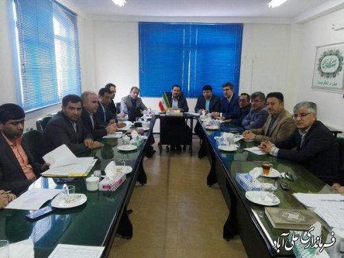 برگزاری جلسه کمیته فنی اشتغال شهرستان علی آبادکتول