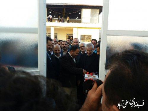 افتتاح گلخانه تولید نهال زیتون منطقه حاجیکلاته با سرمایه گذاری ۱۰۰ میلیارد ریالی