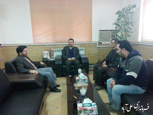 ملاقات عمومی فرماندار علی آبادکتول با مردم برگزار شد