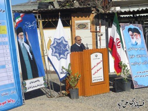 افتتاح و کلنگ زنی متمرکز پروژه های شهرداری علی آبادکتول