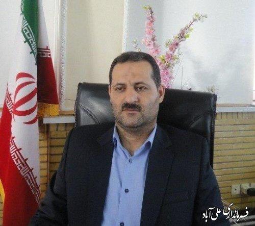 دعوت فرماندار شهرستان علی آبادکتول از مردم جهت شرکت در راهپیمایی 22 بهمن