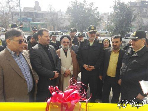 افتتاح ساختمان پلیس فتا در شهرستان علی آبادکتول
