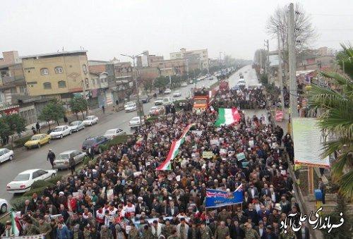 حماسه  باشکوه چهلمین سالگرد پیروزی انقلاب اسلامی در شهر فاضل آباد