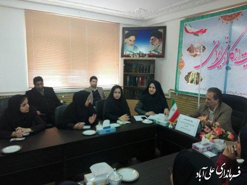 برگزاری ستاد گرامیداشت هفته زن و مقام مادر