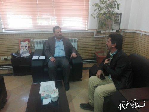 برگزاری ملاقات عمومی فرماندار شهرستان علی آبادکتول