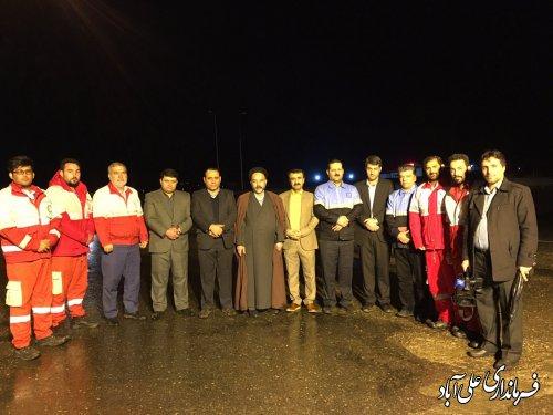 استقبال از مسافرین نوروزی در شهرستان علی آبادکتول