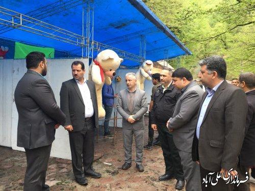 بازدید فرماندار از پارک  گردشگری کبودوال