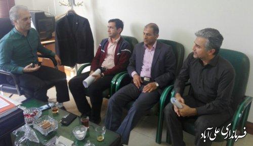 بررسی برنامه های هفته کار و کارگر در شهرستان علی آبادکتول