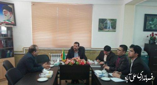برگزاری جلسه رفع اختلاف بین ادارات جهاد کشاورزی و برق