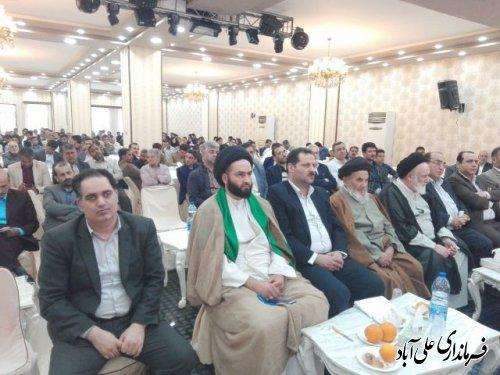 """برگزاری مراسم گرامیداشت روز """"شوراها"""" در شهرستان علی آبادکتول"""