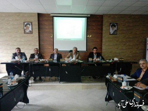 برگزاری اولین جلسه کارگروه سلامت و امنیت غذایی شهرستان علی آبادکتول