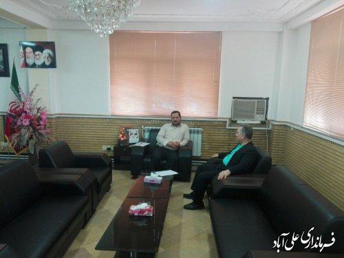 برگزاری ملاقات عمومی فرماندار شهرستان علی آبادکتول با مردم