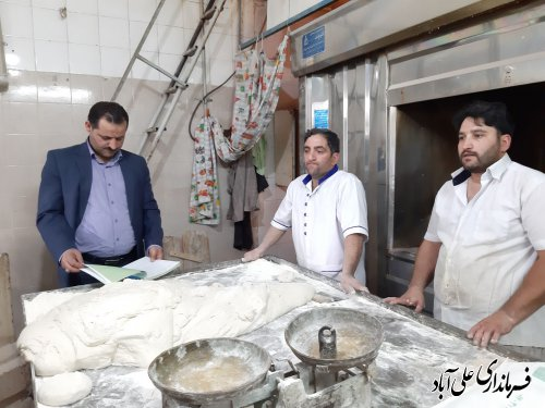 بازدید سرزده فرماندار علی آباد کتول از واحدهای خبازی
