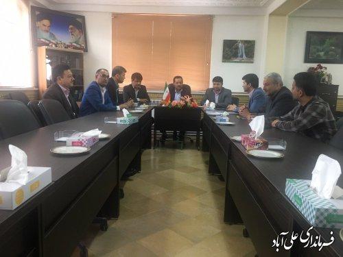 برگزاری جلسه بررسي مشكلات حمل و نقل جهت حمل محصولات كشاورزي