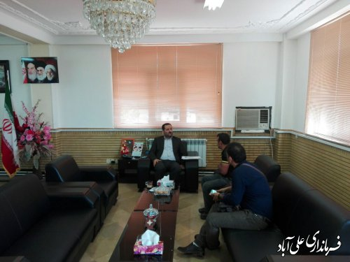 برگزاری ملاقات عمومی فرماندار با مردم شهرستان علی آبادکتول