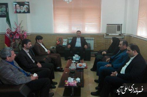 برگزاری مراسم تکریم و معارفه رئیس دانشکده فنی و حرفه ای امام خمینی(ره)