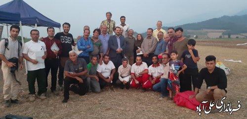 برگزاری مسابقات پاراگلایدر استان گلستان به میزبانی شهرستان علی آبادکتول