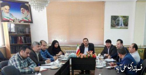 برگزاری جلسه مشترک کمیته فناوری اطلاعات ستاد انتخابات استان و شهرستان علی آبادکتول