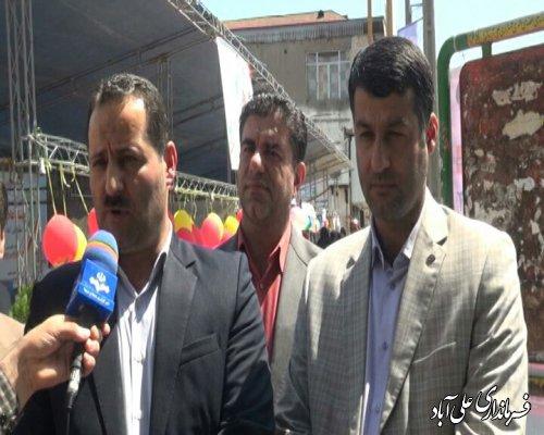 افتتاح اولین نمایشگاه توانمندی ها و دستاوردهای تشکل های اجتماعی و سازمان های مردم نهاد در شهرستان علی آبادکتول