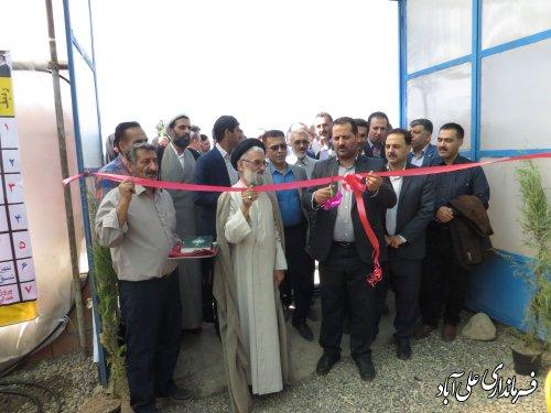 افتتاح و کلنگ زنی پروژه های مدیریت جهاد کشاورزی