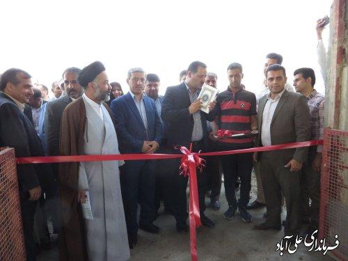 افتتاح پروژه های اقتصادی و تولیدی صندوق کارآفرینی اُمید