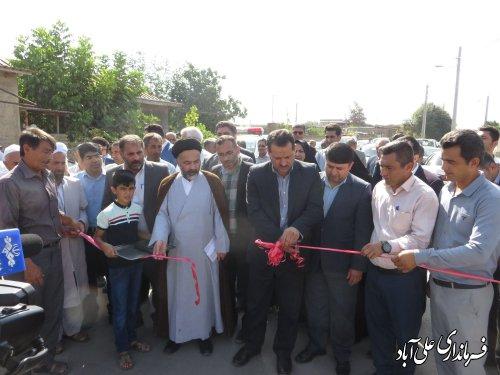 افتتاح پروژه های بخشداری مرکزی و بنیاد مسکن انقلاب اسلامی