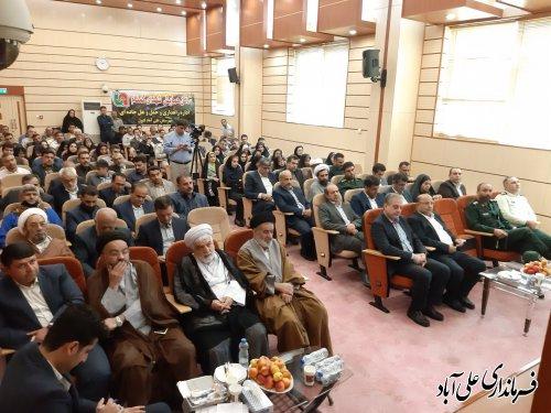 افتتاح و کلنگ زنی متمرکز ۱۱۳ پروژه عمرانی و طرح تولیدی در شهرستان علی آبادکتول