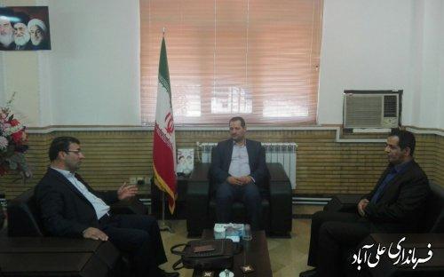 معارفه سرپرست اداره صنعت، معدن و تجارت شهرستان علی آبادکتول