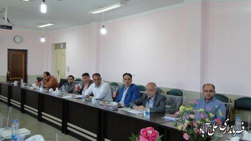 فرماندار؛ آمادگی کامل جهت بازگشایی مدارس و اجرای مطلوب پروژه مهر وجود دارد.