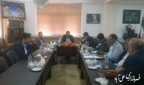 برگزاری جلسه شورای مدیران ارتباطات و فناوری اطلاعات استان گلستان در علی آبادکتول