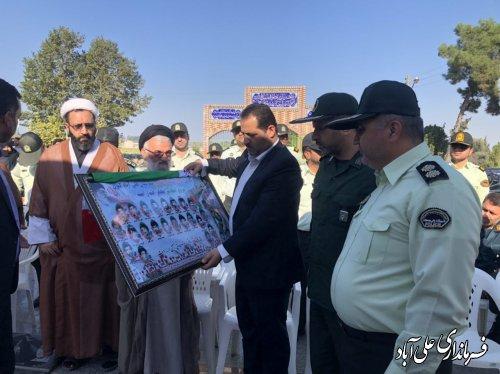 برگزاری آئین غباررویی و عطرافشانی گلزار شهدای شهرستان علی آبادکتول