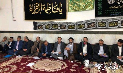 حضور فرماندار و مدیران دستگاههای اجرایی در برنامه رادیویی استان گلستان