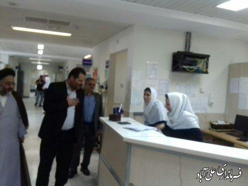 بازدید فرماندار از بیمارستان بقیه الله الاعظم(عج)