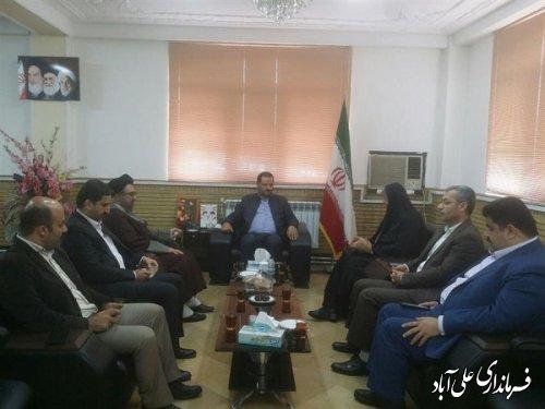 معارفه سرپرست اداره فرهنگ و ارشاد اسلامی شهرستان علی آبادکتول