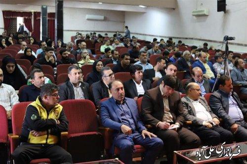برگزاری همایش مدال آوران شهرستان علی آبادکتول