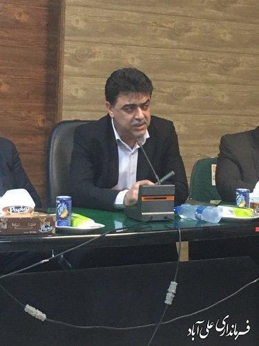 افتتاح متمرکزپروژه های پدافندغیر عامل شرکت آب وفاضلاب روستائی استان گلستان در شهرستان علی آبادکتول؛