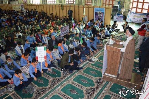 گزارش تصویری حماسه ی ۱۳ آبان سال ۱۳۹۸ در شهرستان علی آبادکتول