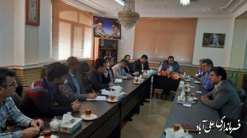 برگزاری ششمین جلسه ستاد اجرایی انتخابات فرمانداری شهرستان علی آبادکتول