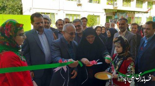 افتتاح ساختمان جدید مدرسه شش کلاسه موقوفه مهدیه