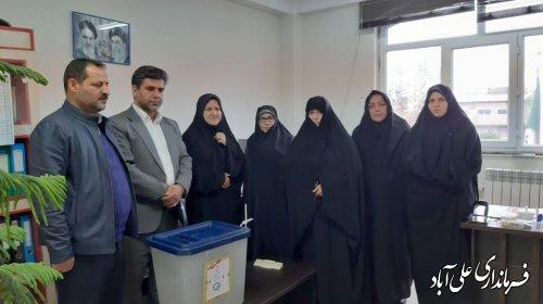 برگزاری انتخابات شورای توسعه و حمایت سازمانهای مردم نهاد علی آبادکتول