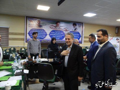 بازدید رئیس ستاد انتخابات استان از روند ثبت نام داوطلبان