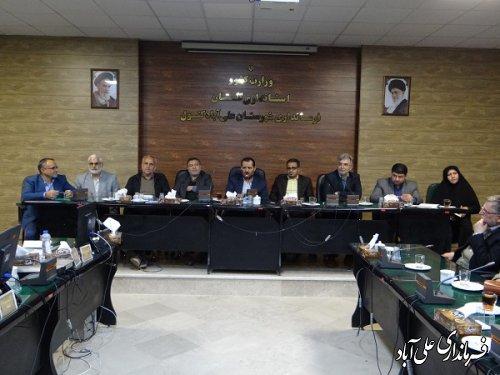 برگزاری جلسه انتخاب معتمدین اصلی و علی البدل هیات اجرایی شهرستان علی آبادکتول
