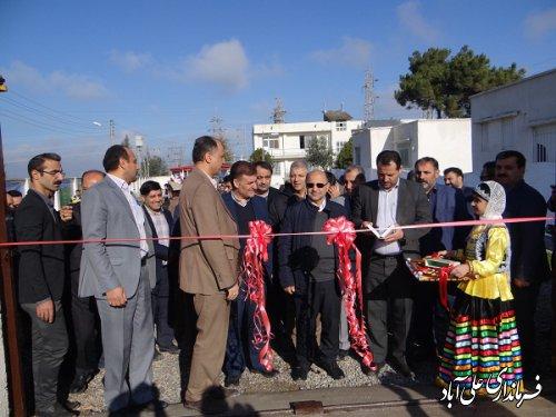 برگزاری آئین افتتاحیه سایت آموزشی شرکت توزیع نیروی برق علی آباد کتول