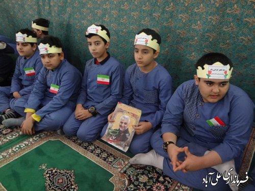 برگزاری مراسم جشن تکلیف دانش آموزان پسر