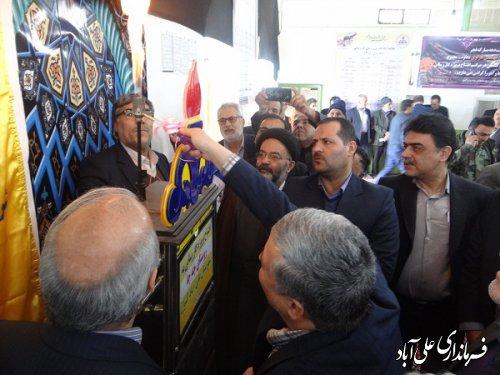 افتتاح متمرکز 114 پروژه عمرانی و طرح تولیدی اشتغال زا در شهرستان علی آبادکتول