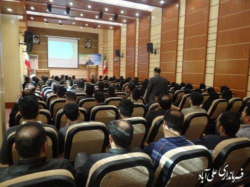 برگزاری جلسه آموزشی بازرسین و سربازرسین شعب اخذ رای