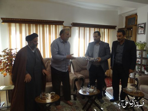 دیدار با پیشسکوتان انقلاب اسلامی شهرستان علی آبادکتول