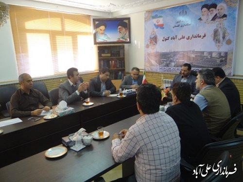 برگزاری جلسه کمیته پشتیبانی ستاد انتخابات شهرستان